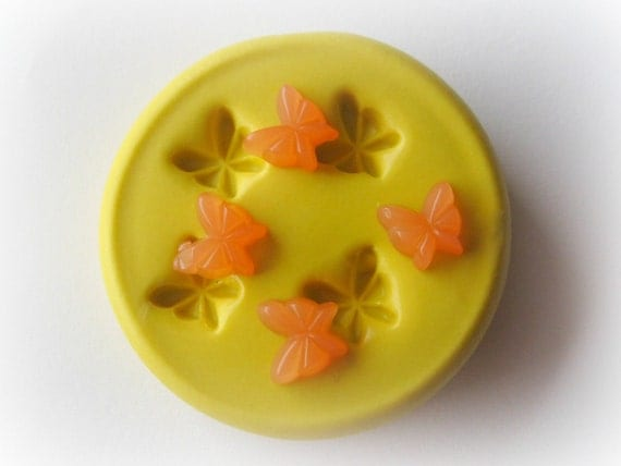 Butterfly Cabochon Tiny Bug Mold Silicone Flexible Charm Mold