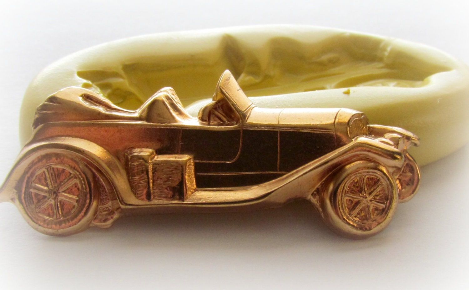Old Car Mold Toy Car Fondant Mould Pmc Polymer Clay Resin Mold