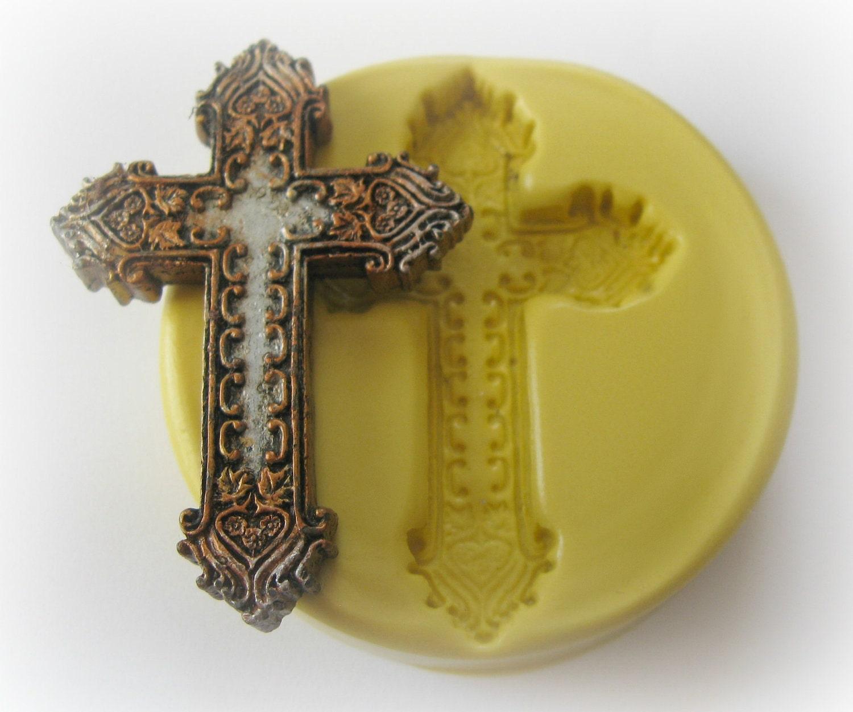 fondant cross mold
