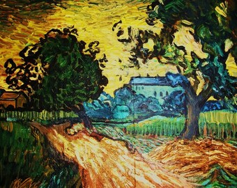 Artist study of CHATEAU  D AUVERS by Vincent Van Gogh