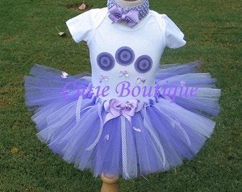 LOLLIPOP Birthday TUTU Set With 3D Lollipop Shirt --- All Sizes 6 9 12 18 24 Months 2T 3T 4T----Birthday, Photo, Holidays, Dress Up