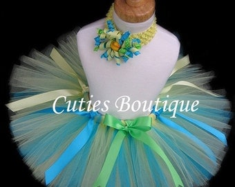 Rubber Duckie Tutu And  Headband--- All Sizes 6 9 12 18 24 Months 2T 3T 4T 5T----Birthday, Photo, Holidays, Dress Up-------