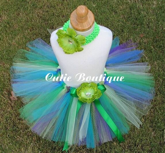 UNDER THE SEA Tutu Flower Headband Set..... All by CutiesBoutique