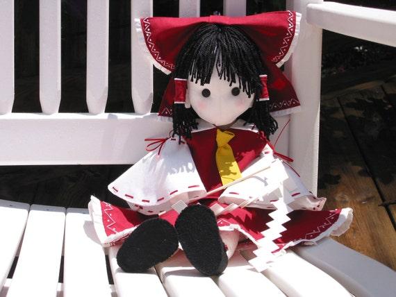 Reimu Hakurei Touhou Project Doll