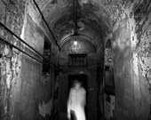"Creepy Hallway - Kilmanhaim Gaol - 5x7 Fine Art Photo- ""Walk"""