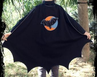 Super Bat Cape PDF Pattern
