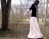 Custom Ruffly Maxi Skirt (In Your Choice of Color)
