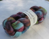 "Merino Wool and Tencel Top ""Happy Place"" 4 oz MT10"