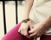 Gold & Black Wrap Bracelet as seen on Jenni of Story of my Life