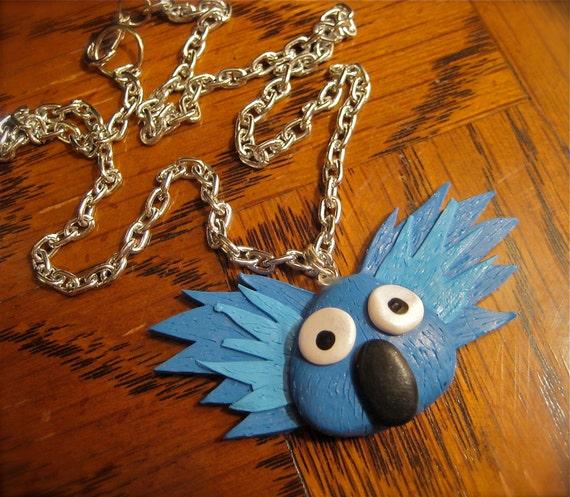 Blue Koala Necklace