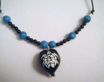 Honu Kukui Nut necklace