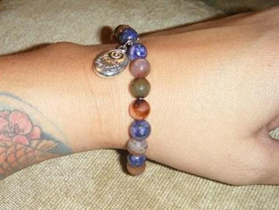 Follow-your-heart multicolor tourmaline bead bracelet