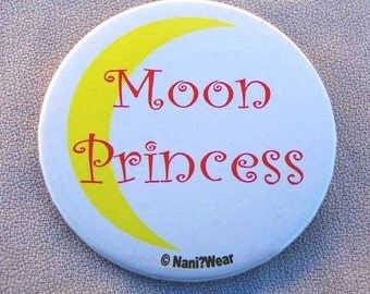 Sailor Moon 2-Inch Button - Moon Princess