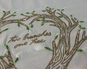 Table Cloth Guest Book for Wedding (Personalized)