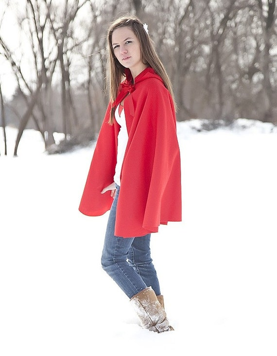 Little Red Riding Hood Adult size costume cape cloak