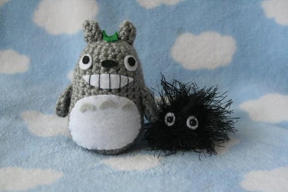 Mini Totoro and Soot Sprite