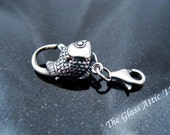 Fish Lock Trollbeads Style Double End Clasp