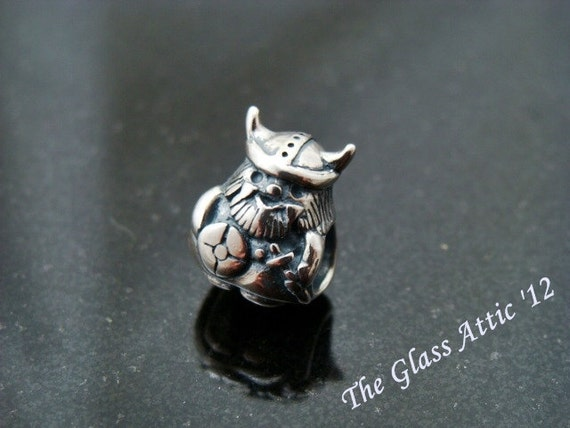 Viking fits Trollbeads and all other European Charm Systems Sterling Silver