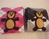 Reserved for Andrea Teddy Bear Wiggle Warmers