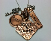 Special Memories Handstamped Family Necklace