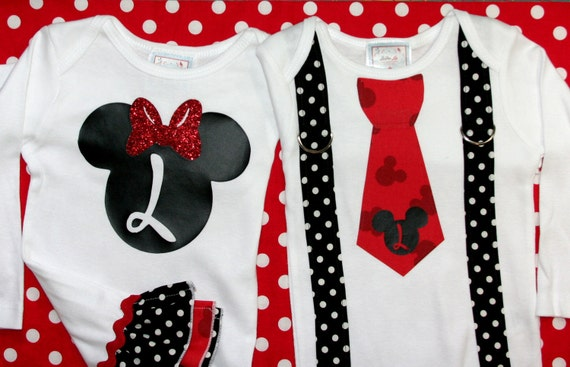 Mickey Matching Brother and Sister Set