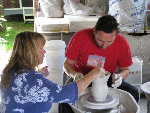 One Session Pottery Wheel Throwing Course