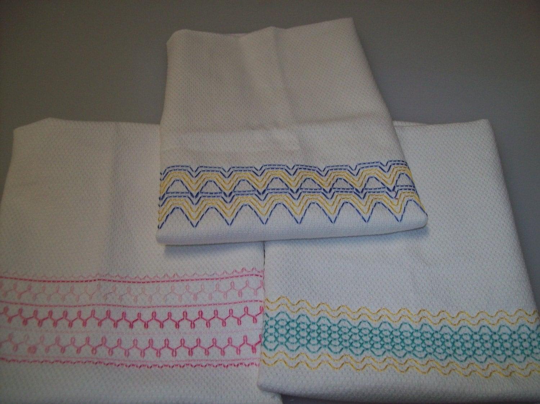 Swedish Weaving Huck Embroidery Pattern Set B