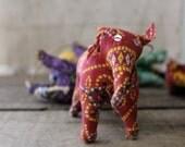 v i n t a g e  bohemian elephant mobile