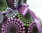 Maternity Hospital Gown-Lavender Round About-READY TO SHIP