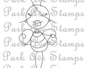 Park Ave Stamps Bee Attitude Digital Stamp