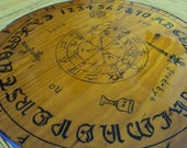 Wood Ouija Board, Wooden Game, Occult Classic