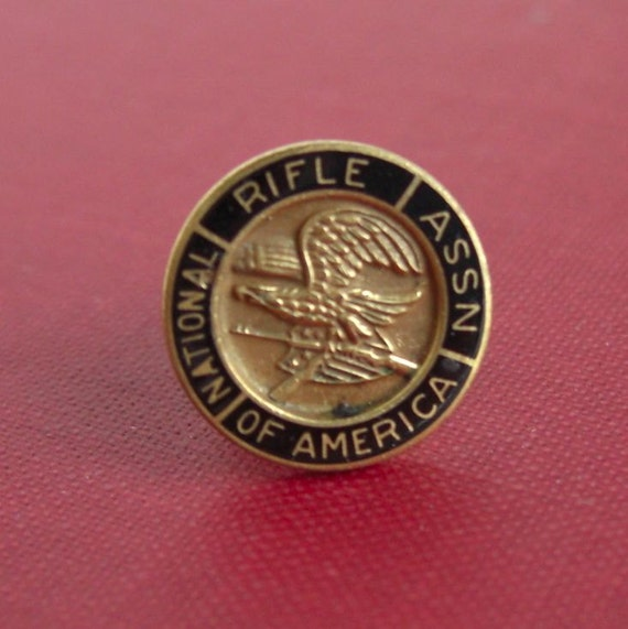 Vintage Nra National Rifle Assn Lapel Pin