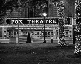 Fabulous Fox Theatre in St Louis - Fine Art Photograph 5x7 8x10 11x14 16x20 24x30