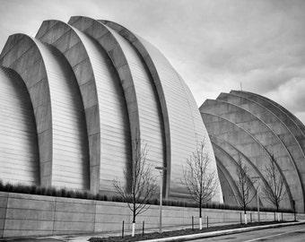 Kauffman Center for the Performing Arts in Kansas City - Fine Art Photograph 5x7 8x10 11x14 16x20 24x30