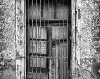 Old Shuttered Window - Fine Art Photograph 5x7 8x10 11x14 16x20 24x30
