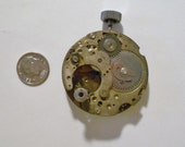 Pocket Watch parts, Steampunk, watch face, gears, plate, cogs (S104)