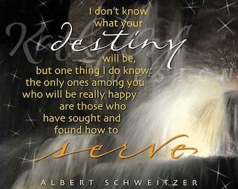 Service quote by Albert Schweitzer