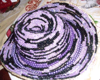 Beaded hat for eggun
