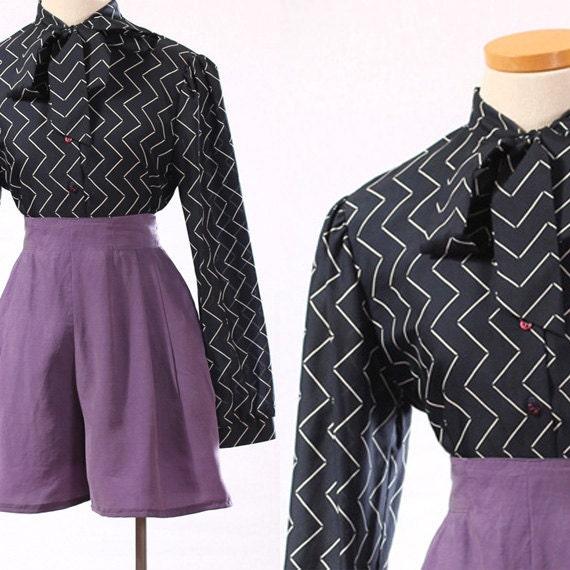 Crooked Path - size medium blouse