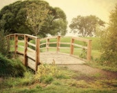 Rustic Country Bridge 8x10 photograph Fine Art Print Rural Photo