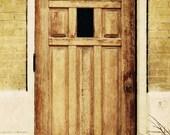 Antique door architecture Photograph Fine Art Photography Metallic photo Print 8x12