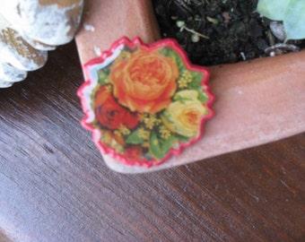 Hallmark 1989 Rose Pin SALE