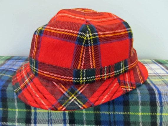 Tartan Deerstalker hat Made In Scotland