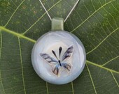 Neenu Butterfly - Handmade Linh Le Glass Pendant Necklace Borosilicate Boro Lampwork