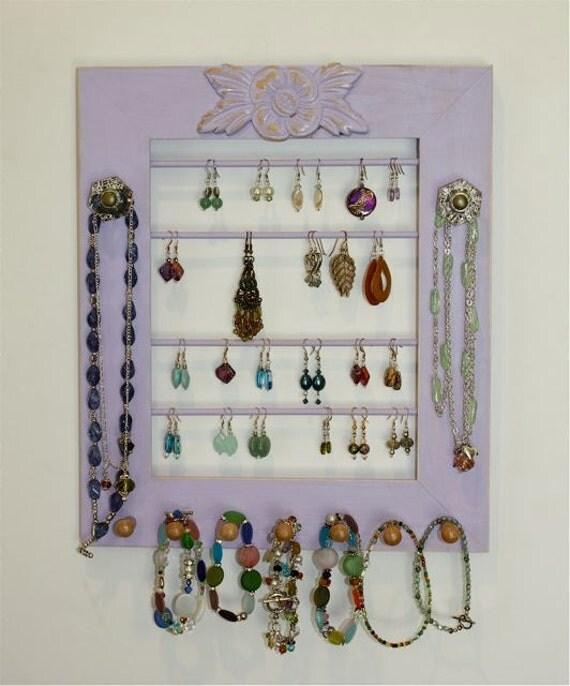 Violet Jewelry Holder.