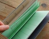 SALE Slate Grey Datebook and Address Book