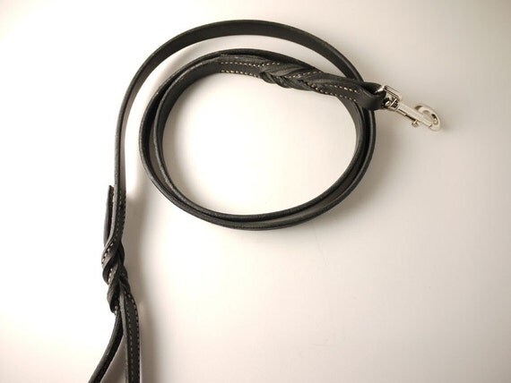 Handstitched Leather Leash