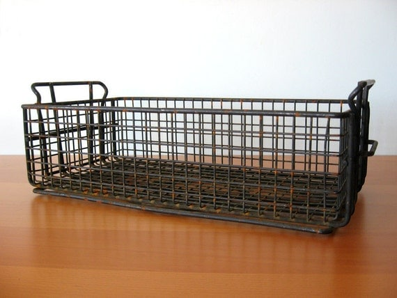 Vintage Industrial Crate - Industrial Storage