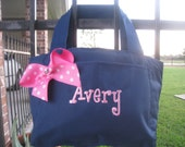 Insulated Lunch tote with Embroidered name