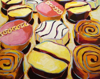 Cupcakes-Mother Knows Best 15- fine art giclee print